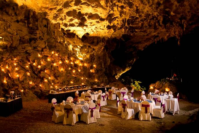 Gala Dinner at the Grotto