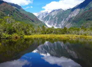 Peter's Pool near Franz Josef Glacier, NZ