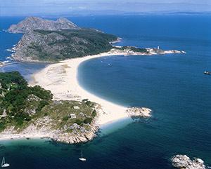 Rodas Beach, Galicia
