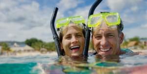 Scuba Divers at Breezes