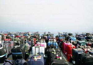 Suitcases beware. Image credit: Budgettravel.com