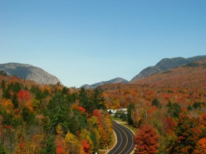 Franconia Notch State Park in fall. Image by muffinman71xx via Gogobot.com