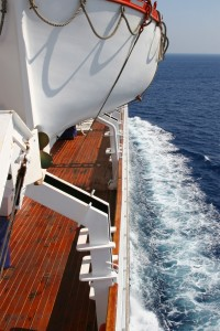Cruising a wooden yacht in the Atlantic ocean. photo: bigstock.com, a great source for inexpensive high quality stock images.