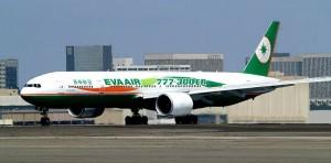 Eva Air Boeing 777 ER