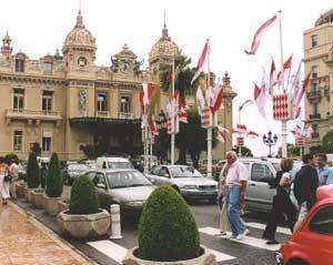 Monte Carlo's famous casino.