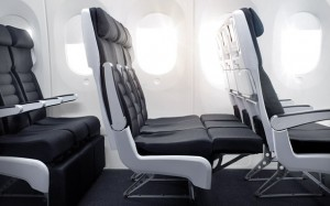 Air New Zealand's economy Skycouch--before