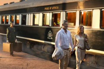 Tour Africa on the World's Most Luxurious Train!