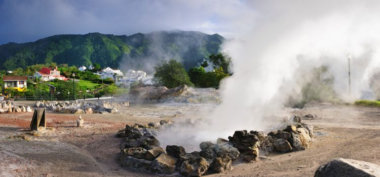 In the volcanic Azores Islands, like San Miguel, you can cook a meal in the ground.