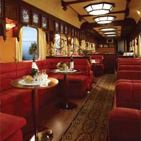 A Private Rail Car Wisks You Through Southern Africa!