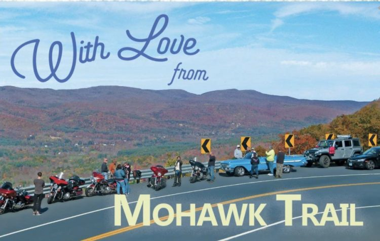 with love from the Mohawk Trail, Massachusetts